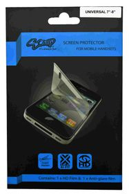 Scoop Screen Protector for Universal 7 To 8 Inch Twin Pack (for Tablets 215mm x 140mm)