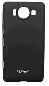 Scoop Progel Microsoft Lumia 950 Case with Screen Protector - Black