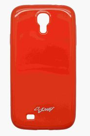 Scoop Progel Samsung S4 Case with Screen Protector - Red