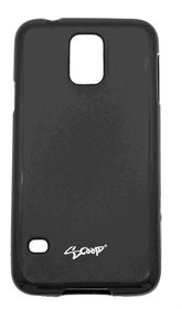 Scoop Progel Samsung S5 Case with Screen Protector - Black