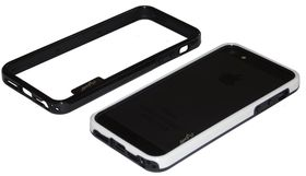 Scoop Bumper Fuzion Case for iPhone 5/SE - Black