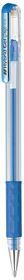 Pentel Hybrid Metallic Gel Grip 0.8mm Pen - Blue