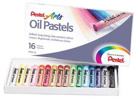 Pentel 16 Oil Pastels Set