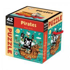 Mudpuppy Cube Puzzle 42 Piece Pirates