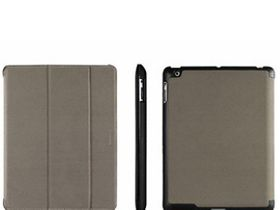 Macally Protective case and stand for iPad 3/4 - Warm greyÿ