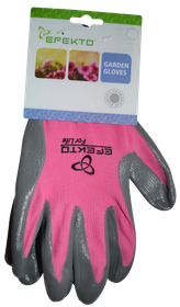 Efekto - Pink Nitrile Gloves - Small