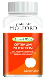 Patrick Holford Smart Kids Optimum Nutr Chew Tabs - 60's