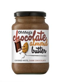 OhMega Chocolate Almond Butter - 400g