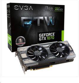 EVGA GeForce GTX1070 8GB FTW GDDR5 Graphics Card