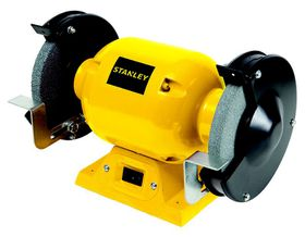 Stanley - 373W Bench Grinder - Yellow