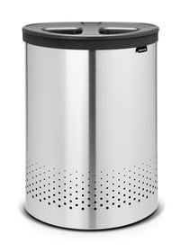 Brabantia - 55 Litre Matt Laundry Bin Selector - Silver