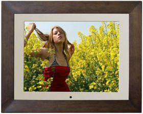 Fotomate 15'' Digital Photo Frame - Wood Colour