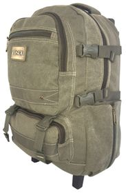 Tosca 15 inch Canvas Laptop Trolley - Green