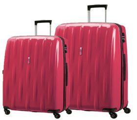 American Tourister Waverider 2 Pack Set Includes 65m & 75cm - Raspberry