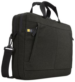 "Case Logic Huxton 15.6"" Expanded Laptop Shoulder Bags - Black"