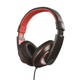 Amplify Groove Over-Ear Headphones - Black/Red