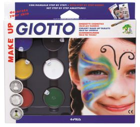 Giotto Make Up Creamy Make Up Classic Colours Tablets Set