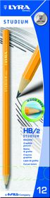 Lyra Studium HB Graphite Pencils - Box of 12