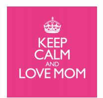 Keep Calm and Love Mom (CD)