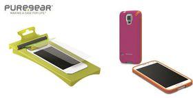 Puregear Bundle for Samsung S5 - Pink