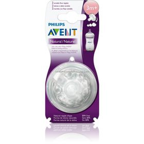 Avent - Teat Natural Variable Flow