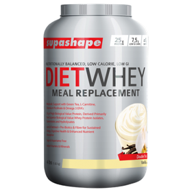 Supashape Diet Whey Meal Replacement 1.82kg - Vanilla
