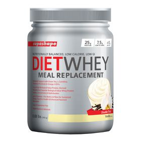 Supashape Diet Whey Meal Replacement 400g - Vanilla