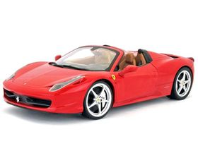 Burago 1/24 Ferrari 458 Spider - Red
