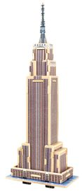 Robotime Empire State Building 3D Wooden Puzzle
