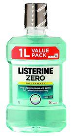 Listerine Lisiterine Zero - 1000ml