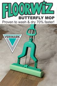 Floorwiz - Elite Butterfly Mop - Green