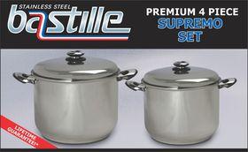 Bastille - 4 Piece Supreme - Silver