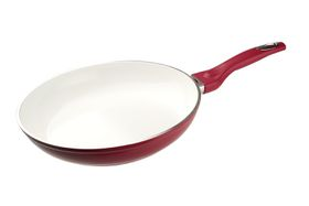 Bauer - 28cm Eco Classic Fry Pan - Red