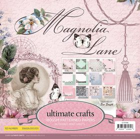 Ultimate Crafts Magnolia Lane 6 x 6 Paper Pad
