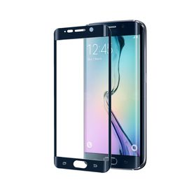 Celly Full Curve Glass for Samsung Galaxy S6 Edge Plus - Black