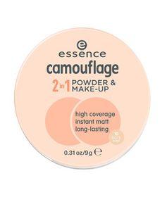Essence Camouflage 2-In-1 Powder & Make-up - 10