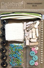 Celebr8 Home Sweet Home Embellishment Pack
