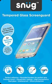 Snug Tempered Glass Screenguard for Samsung Galaxy J7