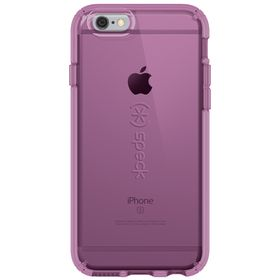 Speck Candyshell Clear for iPhone 6/6S - Clear/Purple