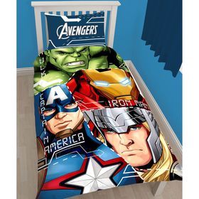 Marvel Avengers Tech Single Panel Duvet