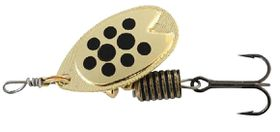 Abu Garcia - Fast Attack Spinners Bait - Gold & Black Dots - 5g