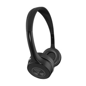 Zagg iFrogz Toxix Plus Headphones with Mic - Black