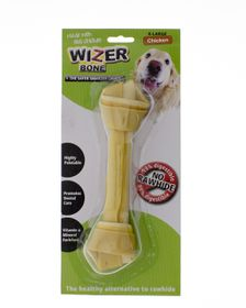 Wizer - Chicken Knotted Bone Treat - Extra-Large