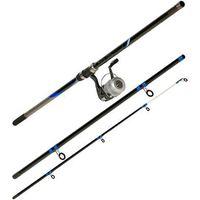 CAPERLAN DECATHLON 420 /3 Sea Fishing Set - Black