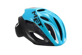 MET Rivale Helmet - Blue / Black- Size: Medium