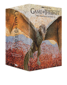 Game of Thrones Season 1-6 Box Set (DVD)