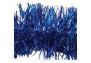 Indoor 2m Shiny Tinsel - Blue