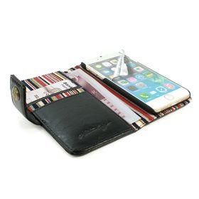 Tuff-Luv Alston Craig Vintage Leather plus Screen Protector for iPhone 7 Plus - Black
