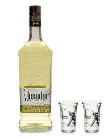 El Jimador - Gift Set With 2 Shot Glasses - 750ml