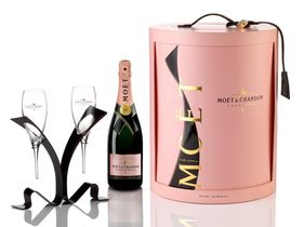 Moet & Chandon - Rose Gift Set Coffret - 750ml